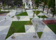 "On the outskirts of Milan, a piazza has been designed as a landscape ""uneasily balanced between natural and artificial"". Text: Maria Claudia Clemente, Francesco Isidori, Labics. Photos: Luigi Filetici"