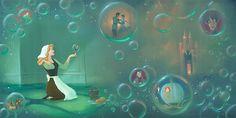 Cinderella - A Fairytale Life - Original - Rob Kaz - World-Wide-Art.com