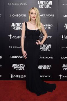 Dakota Fanning in Dolce & Gabbana - American Pastoral screening, New York – October 19 2016