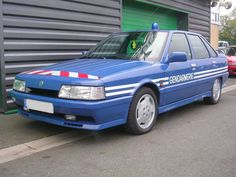 Renault 21 turbo gendarmerie.