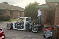 custom built truck