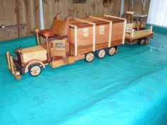 truck and forklift - by sparkle @ LumberJocks.com ~ woodworking community