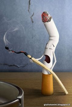 Sad Cigarette http://giuliotonini.blogspot.it/