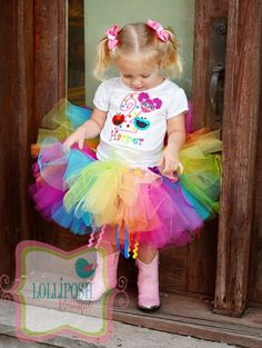 Sesame+Street+Elmo+Abby+and+Cookie+Monster+by+LolliposhBoutique,+$62.00
