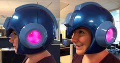 Capcom Releasing A LightUp Mega Man Helmet