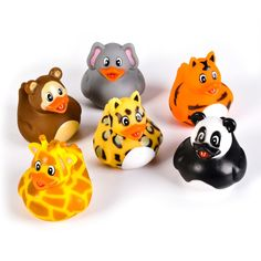 - Add to your rubber ducks collection - Floats in water - Durable, detailed faces and bodies - Fun bathtub toys - Great party favor WARNING: CHOKING HAZARD -- Small Parts. Not for children under 3 yea