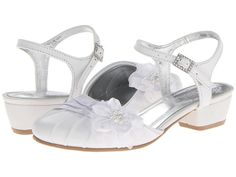 For Lauren's First Communion?  Kenneth Cole Reaction Kids From The Prop (Toddler/Little Kid) White Leather - 6pm.com