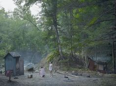 Gregory Crewdson @ The Photographers Gallery. 23 June to 8 October 2017 The Haircut, Gregory Crewdson. Stephen Shore, Edward Hopper, Contemporary Art Gallery, Tableaux Vivants, Leaving New York, Gagosian Gallery, Forest Trail, Photoshop, Scene Image