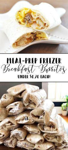 Breakfast On A Budget, Frozen Breakfast, Breakfast Wraps, Breakfast Recipes, Breakfast Sandwiches, Breakfast Healthy, Eat Breakfast, Breakfast Ideas, Cheap Family Meals