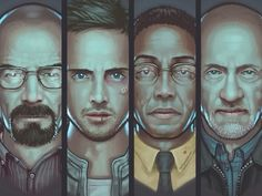 The 'Breaking Bad' Art of Harry Nesbitt - http://robotmutant.com/breaking-bad-art-harry-nesbitt/
