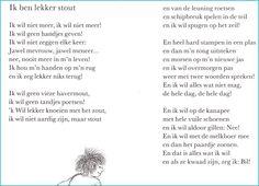 Verwonderend 32 Best kinder gedichtjes images | Schmidt, Poems, Childrens poems QF-11