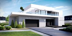 design styles home Contemporary House Plans, Modern House Plans, Modern House Design, Modern Architecture House, Architecture Design, Modern Minecraft Houses, House Construction Plan, Duplex Design, Beautiful House Plans