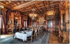 Trieste - castello-miramare-interno