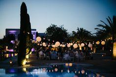 Ibiza party decorations