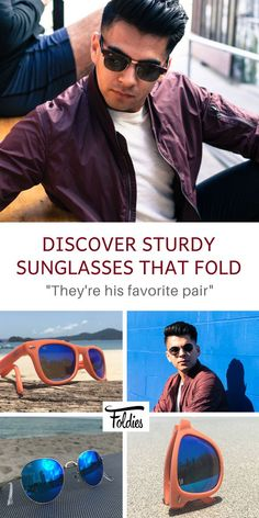 fb8932c28e Foldies® Folding Sunglasses That Adjust To Your Lifestyle