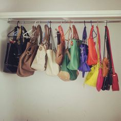 My handbags from all colours