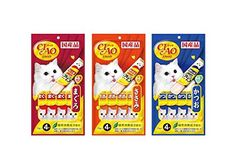 CIAO Stick Tuna Cat licks snacks 3 Mix flavors Raise pack (3 pack). * Read more  at the image link.