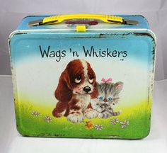1978 Wags and Whiskers Lunchbox by cebcollectibles on Etsy, $15.00  This was my favorite lunchbox ever!