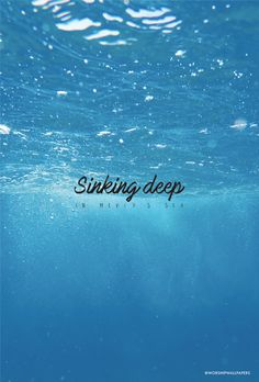 """?Sinking Deep"""" by Hillsong Young & Free // Phone Screen Format // Like us on Facebook www.facebook.com/worshipwallpapers // Follow us on Instagram @worshipwallpapers"""