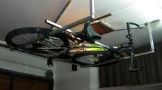 Verkami:  Almacenar bicicletas en el techo