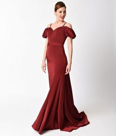 Preorder - Burgundy Off the Shoulder Lace Back Gown For Prom 2017 Cocktail Dresses With Sleeves, V Neck Cocktail Dress, White Cocktail Dress, Sheath Wedding Gown, V Neck Wedding Dress, Long Mermaid Dress, Mermaid Dresses, Blue Bridesmaid Dresses, Prom Dresses