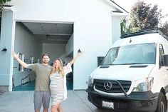 10 Changes We Made to Our Sprinter Van Conversion — 40 Hours of Freedom - Sara & Alex James Van Conversion Plumbing, Van Conversion Hacks, Van Conversion Bathroom, Sprinter Van Conversion, Van Conversion For Family, Small Farmhouse Sink, Best Insulation, 40 Hours, Custom Vans