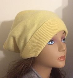 A personal favorite from my Etsy shop https://www.etsy.com/listing/255259111/girl-cashmere-yellow-hat-felted-cashmere