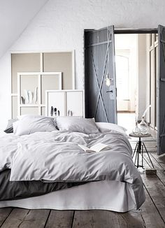 HM Home Autumn 2014 Collection - bedroom Diy Interior, Interior Architecture, Home Bedroom, Bedroom Decor, Bedroom Furniture, Hm Home, Home And Deco, Dream Decor, Beautiful Bedrooms