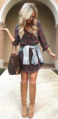 Trendy Ideas How To Wear Fall Outfits Winter Fashion Winter Fashion Outfits, Fall Winter Outfits, Look Fashion, Autumn Winter Fashion, Womens Fashion, Dress Winter, Fashion Boots, Winter Clothes, Winter Dresses