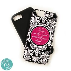 iPhone 5 or 6 Case - Katherine Pink