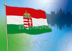 hungary flag vector file