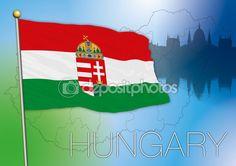 hungary flag vector file
