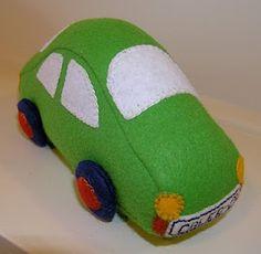 Felt Toy Car