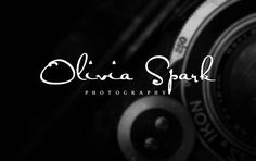 Logo Design  Photography Watermark  Custom Photography Logo