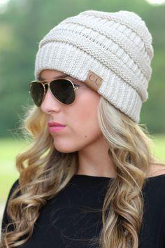 Lavish Boutique  - Chilly Day Beanie: Beige , $15.00 (http://lavishboutique.com/chilly-day-beanie-beige/)