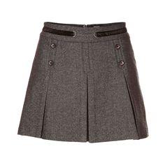 Jupe trapèze ceinturée Cute Skirts, Short Skirts, Mini Skirts, Professional Outfits, Classic Outfits, Mode Style, Skirt Outfits, Fashion Outfits, Womens Fashion