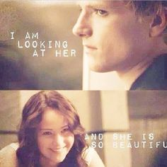 Peeta Mellark & Katniss Everdeen - The Hunger Games Katniss And Peeta, Katniss Everdeen, Hunger Games Catching Fire, Hunger Games Trilogy, Saga, Jenifer Lawrence, Mockingjay Part 2, Suzanne Collins, The Fault In Our Stars