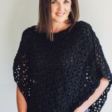 This is an easy-to-crochet poncho featuring a lacy stitch and asymmetrical construction. Crocheted with bulky weight cotton, this poncho hangs beautifully, making it a staple item in any closet. You'll find yourself wanting to make a number of these in various colours to complement your entire...