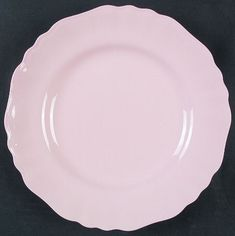 J & G Meakin - Glamour Rosa (pink) Pie Dish, Tea Time, Dinnerware, Decorative Plates, Porcelain, Glamour, China, Crystals, Tableware