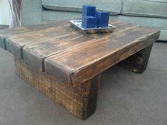 Handmade sleeper coffee table-SR