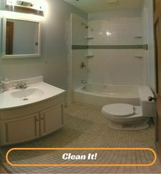 bathroom ideas on budget low ceiling small space – Basements gets bum raps once in a while, if developed ended up out or redesigned later, they actually provide a wide range of extra space for several functions and tasks. Bathroom Remodel Pictures, Guest Bathroom Remodel, Bathtub Remodel, Bathroom Renovations, Home Renovation, Small Basement Bathroom, Simple Bathroom, Paint Bathroom, Narrow Bathroom