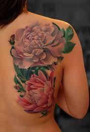 peony flower tattoos - Google Search