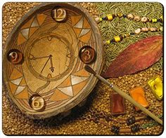 """Art Painting 3D Cool Clock Customizable Gaming Mouse Pad 240x200x3mm(9.45""""x7.87""""x0.12"""") by iCustom&Shop Mouse Pads http://www.amazon.com/dp/B017I4WE2M/ref=cm_sw_r_pi_dp_hYhowb0NG1EQH"""