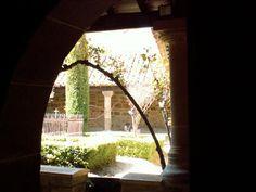 Claustro de La Colegiata de San Martin de Elines