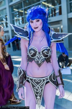 Night Elf   BlizzCon 2013 - Sat #cosplay