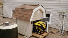 Generator Shed - dog house?!