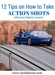 12 Tips on How to Take Action Shots, Action Pictures with a Digital Camera, Photography Tips