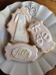 Bambella Cookies - Baptism Cookie