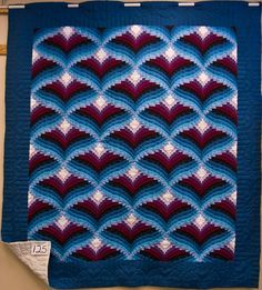 DIAMOND BLOCK BARGELLO QUILT - Google Search