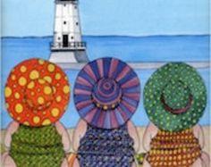 carolyn stich the girls | The Girls Enjoying Beaches of Michi gan by Carolyn Stich. ...